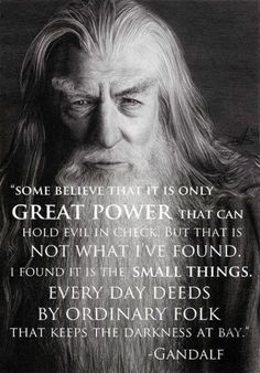 Wise words from a wise wizard!