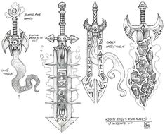 Death Knight Glowing Runeblades - Pictures & Characters Art - World of Warcraft: Wrath of the Lich King