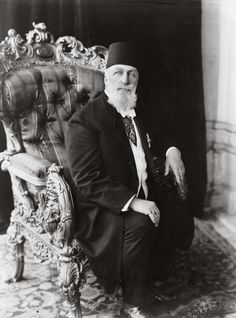 Abdülmecid II [1868 - 1844] the last Caliph of Islam & the 37th Head of the Ottoman Imperial House from 1922 to 1924.
