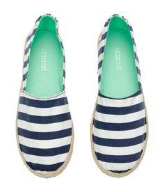 Espadrilles in cotton fabric | H&M Shoes