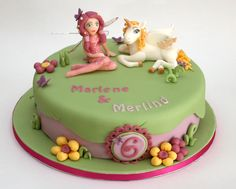 Mamazeit: Mia and me Kuchen I Party, Celebration Cakes, Themed Cakes, Girly Things, Birthday Parties, Birthday Cakes, Cake Decorating, Birthdays, Sweets
