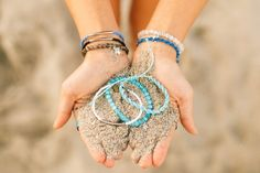 Such pretty bracelets!!!! And with each purchase a percentage goes to saving sea turtles :))