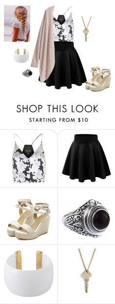 """Untitled 87"" by jjrandom29 ❤ liked on Polyvore featuring Topshop, Gogo Philip and The Giving Keys"