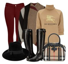 """Burberry"" by ysarybeautiful on Polyvore featuring moda, Burberry, J.W. Anderson y Mademoiselle Slassi"