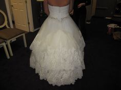 Dress bustle more wedding dress bustle tulle dress details christmas