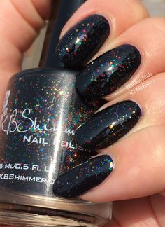 ehmkay nails: KB Shimmer Fall 2015 Collection: KB Shimmer Dark & Twisty