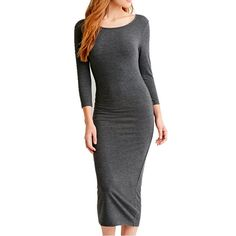 Long Sleeve Slim Dress