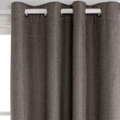 Milton Mineral Blockout 180x250cm Eyelet Curtain