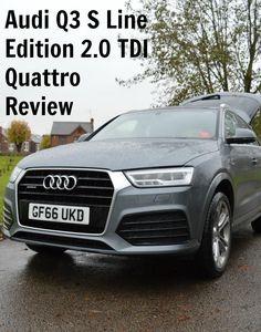 Audi Q3 S Line Edition 2.0 TDI Quattro Review @AudiUK