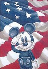 "Cross Stitch Kits ""Disney Mickey Salule America"""