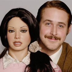 'Lars and the Real Girl' - Ryan Gosling and a blow up doll, an ODD COUPLE, a heart warming movie.