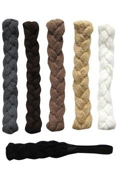 Knit Braided Headband