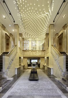 Das Stue Hotel - Member of Design Hotels™ - Berlino, Germany - * I love the lights and stairways.