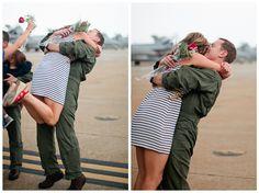 Welcome Home Sunliners. Take two. // Virginia Beach, VA. VFA-81. // Military Homecoming Photography | Val and Sarah - Washington DC, Baltimore and Virginia Creative & Alternative Wedding Photographers