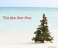 Beach Quote: Tis the Sea-Sun