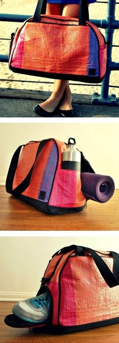 The Activyst gym bag has a compartment for EVERYTHING. | 28 Clever Products You Need To Get In Shape For 2014 [Promotional Pin]