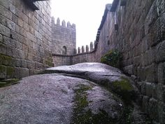 Castle in Guimaraes, Portugal