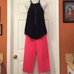 """Talbots brand new pink pants. 35 1/4"""" long, side zipper and very soft . Talbots Pants"""