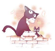 gigi Tattoo? Maybe just the white and black cat?