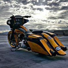 Custom Bagger for Sale Craigslist   ... HD Street Glide ...