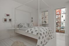 IKEA SPOTTED // EDLAND four-poster bed frame