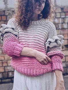 Knitted sweater | Свитер женский. Вязаный свитер из хлопка. Розовый женский джемпер – купить в интернет-магазине на Ярмарке Мастеров с доставкой