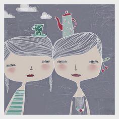 Pinzellades al món: Les il·lustracions d'Elichkata