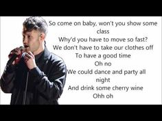 Calum Scott - We don't have to take our clothes off (Lyrics) - YouTube