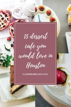 I always love the interiors of dessert cafe. Here are 15 dessert cafe you would totally love in Houston. Houston is a big city with a lot of food & beverages.