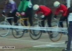 Sorry bro, better bike next time.