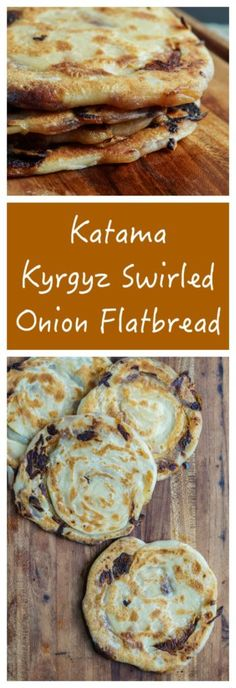 Samarkand Cookbook Review and Katama (Kyrgyz Swirled Onion Flatbread)