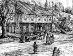 Could be the Winespring Inn, Emond's Field (The Wheel of Time, Robert Jordan)