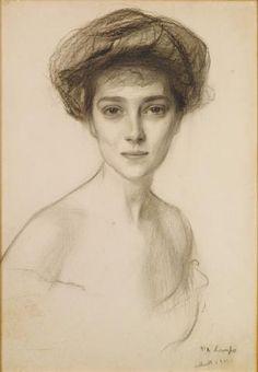 """Philip Alexius de Laszlo, """"Comtesse Henri de Baillet Latour, née Gräfin Elisalex Clary-Aldringen"""""""