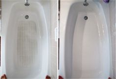 20 clever tricks for a quick and easy house cleaning - bathtub.