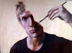 """Saatchi Online Artist: jack bainbridge; Oil, 2011, Painting """"Incomplete Self"""""""