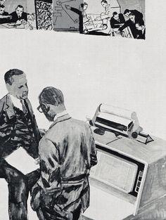 Robert Weaver, I.B.M. World Trade Corp., Reprinted in Illustrators 61
