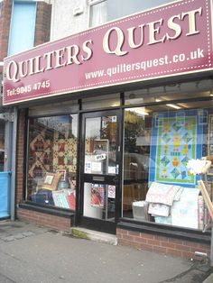 Quilter's Quest  361 Woodstock Road, Belfast, United Kingdom BT6 8PU,   Phone# 028 90454745, www.quiltersquest.co.uk