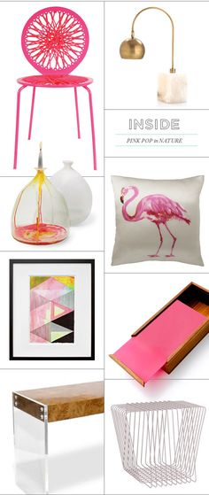 Love all the colours together, bright & summery!  From Oh Joy! Blog