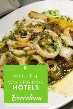 9 Mouthwatering Foodie Hotels in Barcelona - Perhaps these aren't hotels but restaurants with guest rooms? A list of the best foodie hotels in Barcelona! Top Europe Destinations, Spain Travel Guide, Barcelona Hotels, Hotels And Resorts, Luxury Hotels, Food Tasting, Beautiful Hotels, Guest Rooms, Hotel Reviews