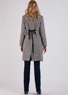 Adore this double breasted coat from 'Queen Mum'