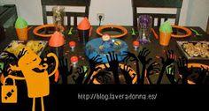 La vera donna: Halloween party: mesas de dulces y salados