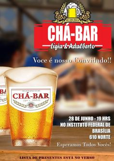 CHÁ BAR - LIGIA by Márcio Vidal, via Behance