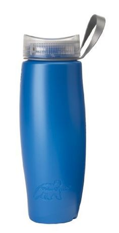 Polar Half Twist 24-Ounce Light Bottle (Blue) by Polar. $7.33. The Half Twist Light features the revolutionary new Half Twist cap.  One can drink from either of the two openings in the contoured mouthpiece, while the other allows air to flow into the bottle, providing a smooth, even outflow of liquid.  The cap requires just a half turn to the left to open and a half twist to the right seals the bottle, watertight.  There's no need to ever remove the cap to drink...