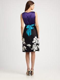 Elie Tahari - Portia Dress - note the blue