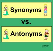 Synonyms and Antonyms from the SMART exchange