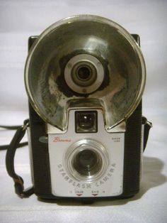 Vintage Brownie Starflash Camera by TheGrassHarpist on Etsy, $10.00