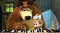 Maşa ve Ayı Türkçe Dublaj: Gambar Marsha n Bear