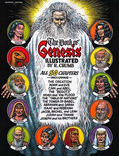 Genesis Illustrated by Robert Crumb
