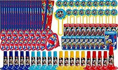 Disney Mickey Mouse 100 Piece Party Super Mega Favor Pack Birthday Party Supplies - http://www.partythings.com/disney-mickey-mouse-100-piece-party-super-mega-favor-pack-birthday-party-supplies.html