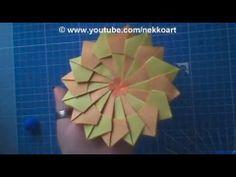 How to fold: RARE ORIGAMI MANDALA - YouTube